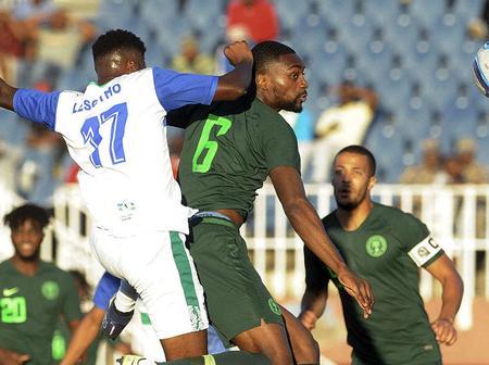 Crocodiles of Lesotho berth in Lagos for Super Eagles AFCON 2022 clash