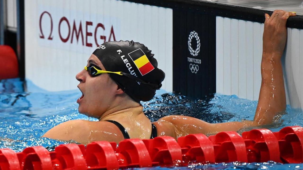 Jeux olympiques: la nageuse sud-africaine Tatjana Schoenmaker remporte la médaille d'argent du 100 m brasse