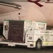 In Photos: How Covid-19 Vaccine Arrived in The Country