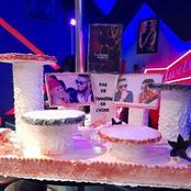 Le gigantesque gâteau d'anniversaire de Arafat DJ suscite des réactions des internautes