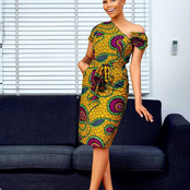 Wear Ghana Month: Slay In These Beautiful African Print Dresses