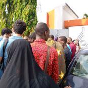 4è pont d'Abidjan /  chaudes empoignades   entre des déguerpies et des responsables du projet