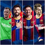 Barcelona have announced new contracts for four key players!.