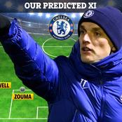 UCL: Chelsea's Strongest 3:4:3 Line Up Against FC Porto. Kante And Pulisic To Start