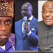 Today's Headline: Pastor Faseru Sends Strong Message To Nigerians, Wike Slams Amaechi