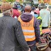 Suspected Motorbike Thief Stoned And Set On Fire