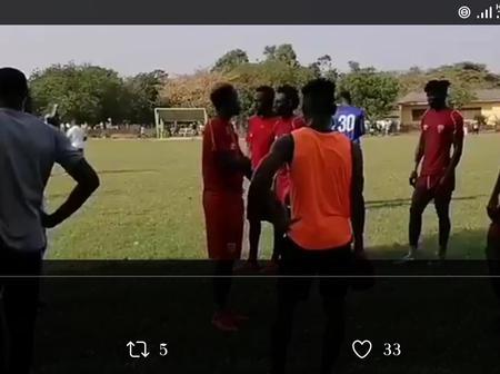Hearts of Oak wins by five goals to nil after beating Future Stars in a friendly game this evening.