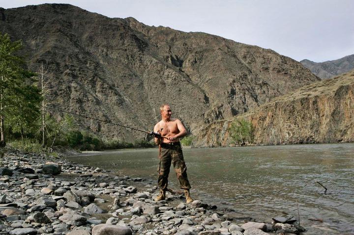 President Vladimir Putin named Russia