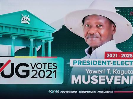 Yoweri Museveni declared a winner of Uganda's presidential elections.  See votes percentages.