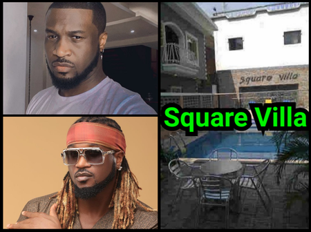See Inside Throwback Photos Of The Square Villa When Peter And Paul Used To Live In It