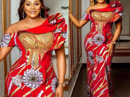 Ladies, Checkout 50 Graceful Red And White Gowns You Can Rock On Easter Day.