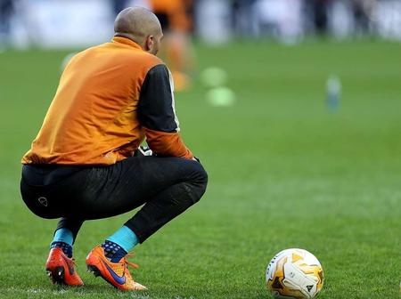 Remembering Nigerian Goalkeeper Carl Ikeme Who Was Diagnosed with Lukemia -  See Recent Photos Of Him.