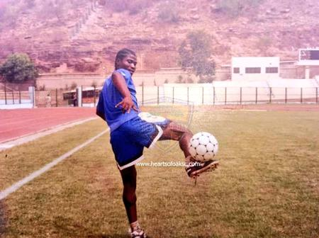 Hearts of Oak remember Laryea Kingston with throwback pictures