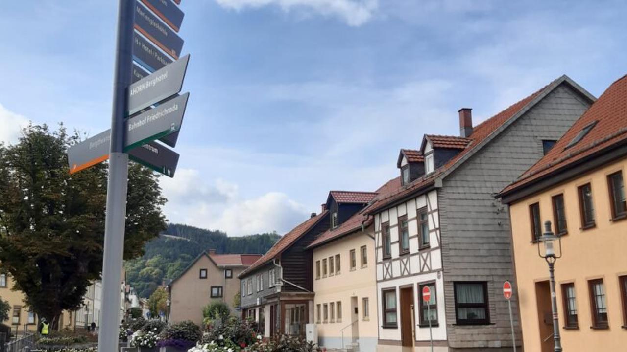 Neue Touristische Beschilderung in Friedrichroda und den Ortsteilen