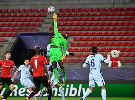 Edouard Mendy is becoming another Petr Cech. You just can't hate the guy.
