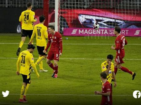 Lewa hat-trick sends Bayern top