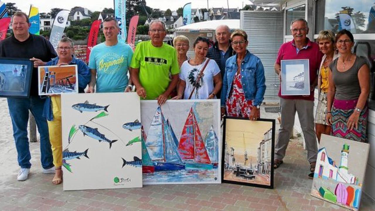 À Plougonvelin, une vente de tableaux au profit du CHRU de Brest dès samedi