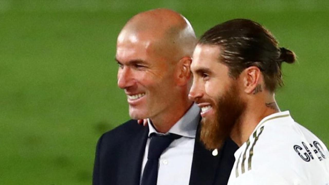 Real Madrid : Zidane et Benzema saluent Ramos