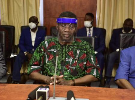 The Reason Pastor Adeboye Visited Kaduna State And Later Met Gov. el-Rufai At Government House
