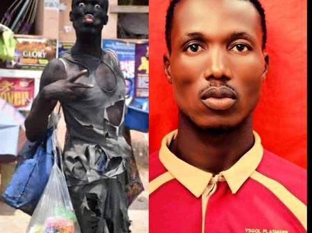 The Guy That Was Mistaken For A Mad Man Has Been Identified, See The Reason Why He Dressed That Way