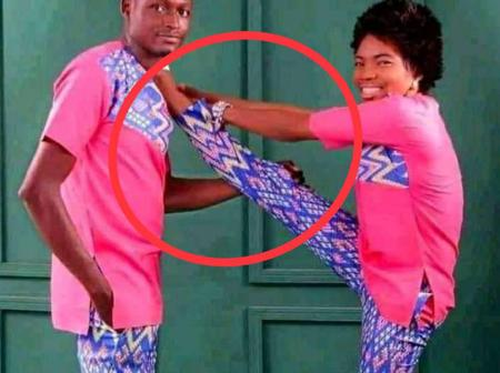 See Pre-Wedding Photo That Is Causing Mixed Reactions On Facebook