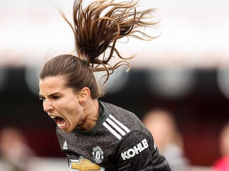 Fans react as Manchester United women win against West Ham United.