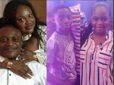 Lovely Moments Of Maurice Ampaw's Late Wife With Her Children And Husband Causes Sadness