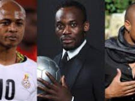 Andre Dede Ayew's opinion against Michael Essien on LGBTQI.
