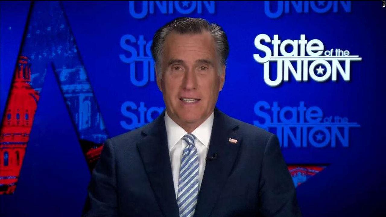 Mitt Romney, GOP senator, on former President Donald Trump's return to rallies: 'It's entertaining but it's not real'