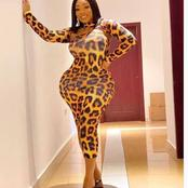 God Is Wonderful: Forget About Biodun Okeowo's Curved Shape, Check Out Moesha Buduong's Curve
