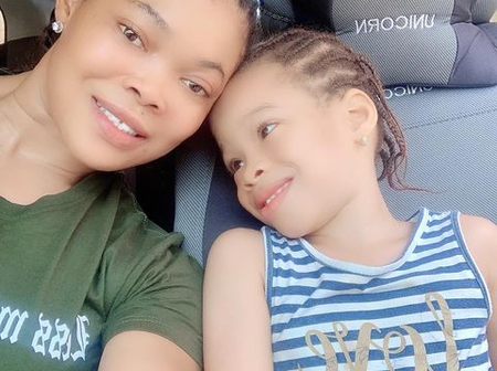 Ruby Ojiakor Shows Off Her Dancing Skills With Daughter In Her Room As The Month Ends Today. Video
