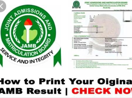 ADMISSION: How To Print Your Original JAMB Result From Your JAMB Portal