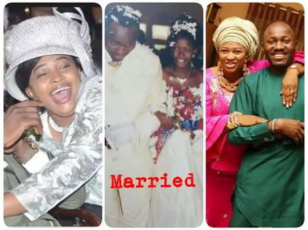 Apostle Suleiman Has a Nice Taste, See Pictures of His Wife He Married In 2004