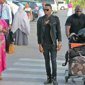 Pesa Iko Na Wenyewe Walae! Reactions After Top musician Was Spotted Traveling With a Bag Of Money