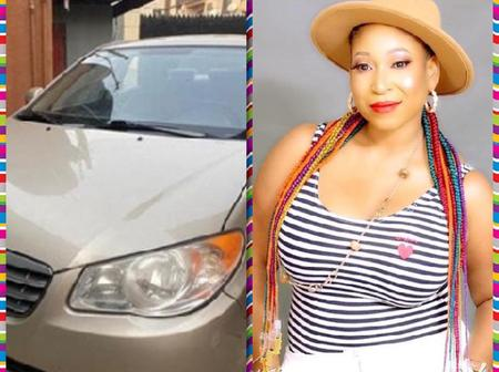 Adesanya Toyosi And Others Congratulate Actress Titilola Osinowo As She Acquires New Car(Photos)