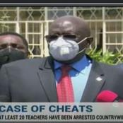 Exam Cheating: KCSE Agriculture Paper 1 Leaked. CS Magoha Confirms