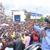 Ruto's Visit To Mt Kenya Seems Fruitful As He Receives Grand Welcome In Meru Today