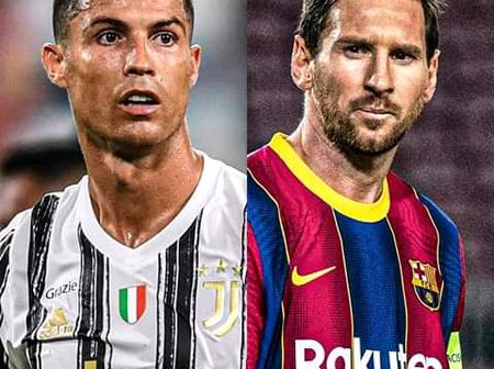Before You Think Ronaldo Is Better Than Lionel Messi- Just Take A Look At These Two Pictures.