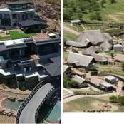 A look at president Cyril Ramaphosa and Jacob Zuma houses, see which one is more beautiful