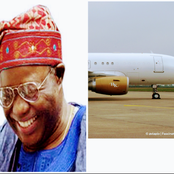 Nigerian Business Mogul That Died, See His Private Jet He Left Behind