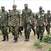 Nigerian Military Men Killed Some Gunmen In Kaduna State