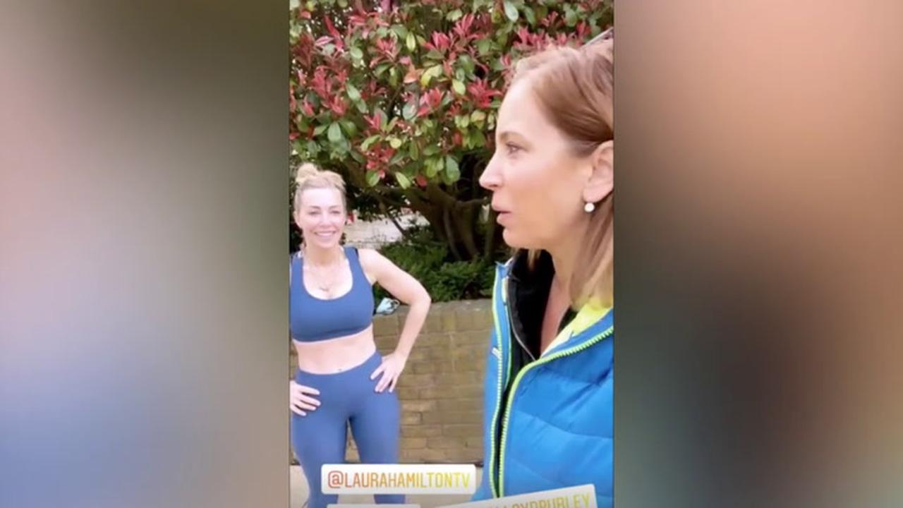 Laura Hamilton: TV host shares exercise routine - 'most beneficial' time to workout
