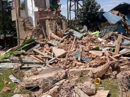 A Man Demolishes House After Finding Family Stole Wife And Wedded Her Off To A Rich Man