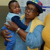Lost and found baby left at toilets taxi rank, help us trace the real Parents, see woman left baby.