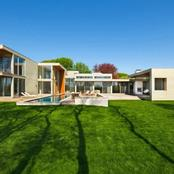 The Fieldview House From East Hampton Is A C-Shaped Home With Courtyard And Pool!