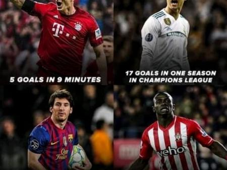 From Ronaldo's 17 Goals In UCL To Messi's 91 Goals In 2012, See 4 Records Which May Not Be Repeated.