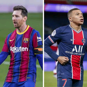 PSG have identified Messi and this 2 other World class Attackers as possible replacement for Mbappe