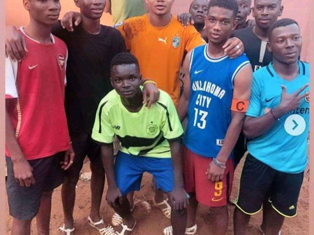 Man Utd Star, Amad Was Playing With A Local Boot In Ivory Coast, He Never Knew His Story Will Change