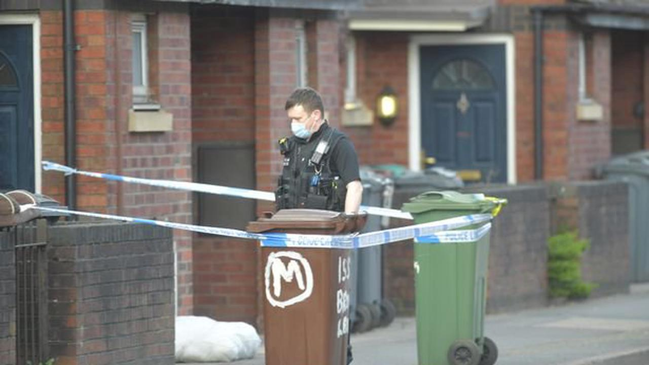 Pensioner who died in a south Manchester flat fire was suffering from depression, inquest hears