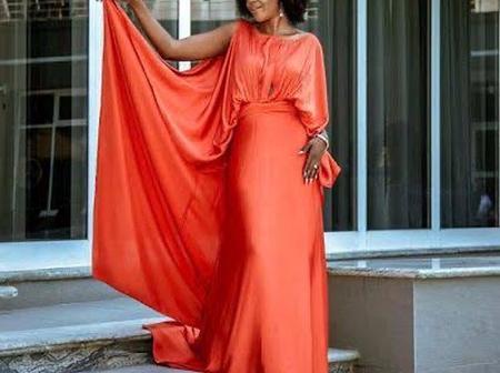 Checkout Beautiful Photos Of Actress Omoni Oboli On Beautiful Aso-Ebi Style